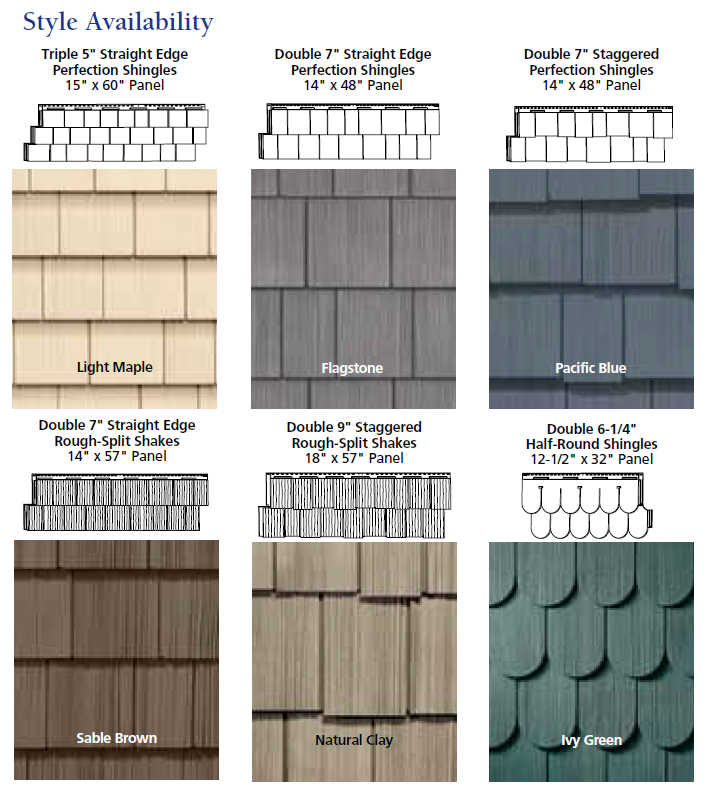Siding types for home installation toronto for Types of house siding materials